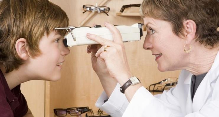 微净界视力检查