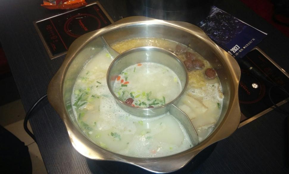 金羔楼三味火锅鸳鸯锅