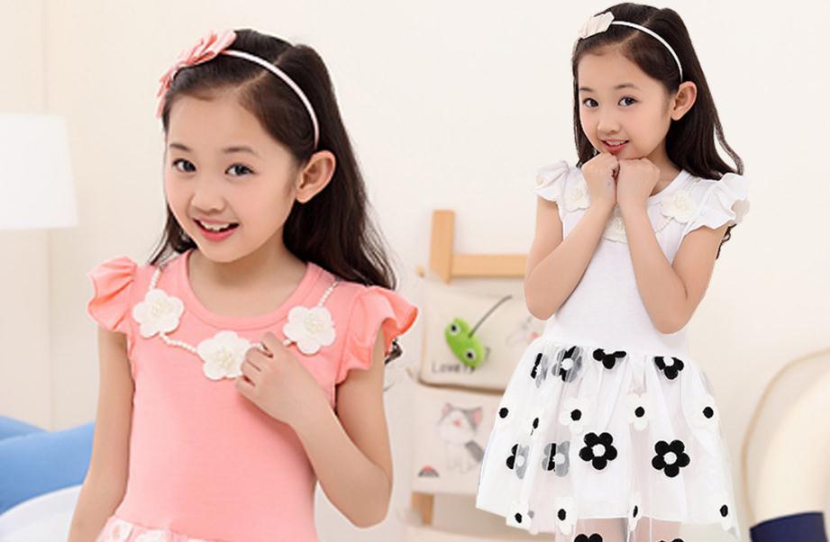 天使童装粉色
