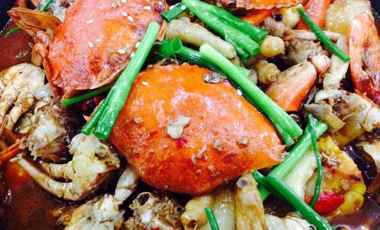 胖帅肉蟹煲芝麻