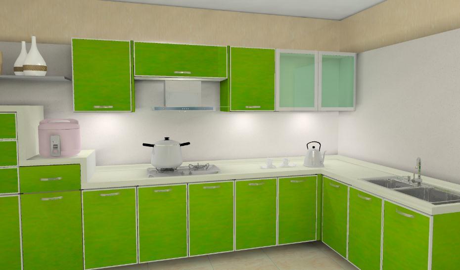 誉旭橱柜绿色