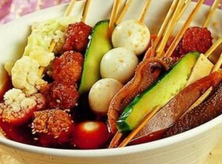 啊咻冷锅串串蔬菜