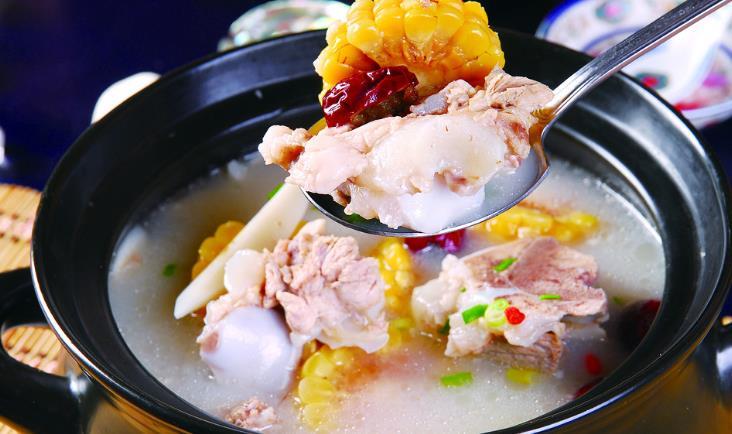 咸肉菜饭骨头煲火锅
