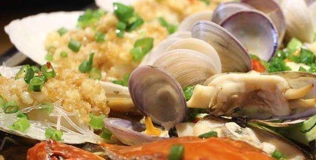伍哥蒸鲜蒸汽海鲜海鲜美味