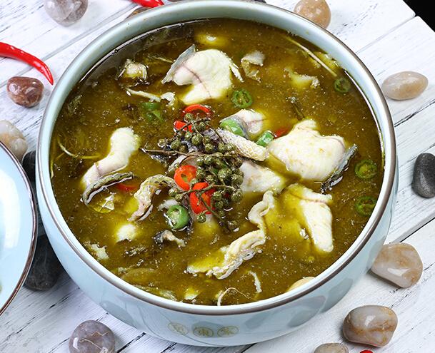 鱼东家花椒酸菜鱼