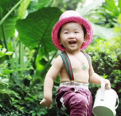 中国娃娃儿童摄影男孩