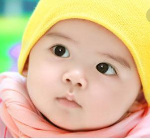 天使乐园儿童摄影黄帽子