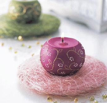 爱家家居饰品蜡烛