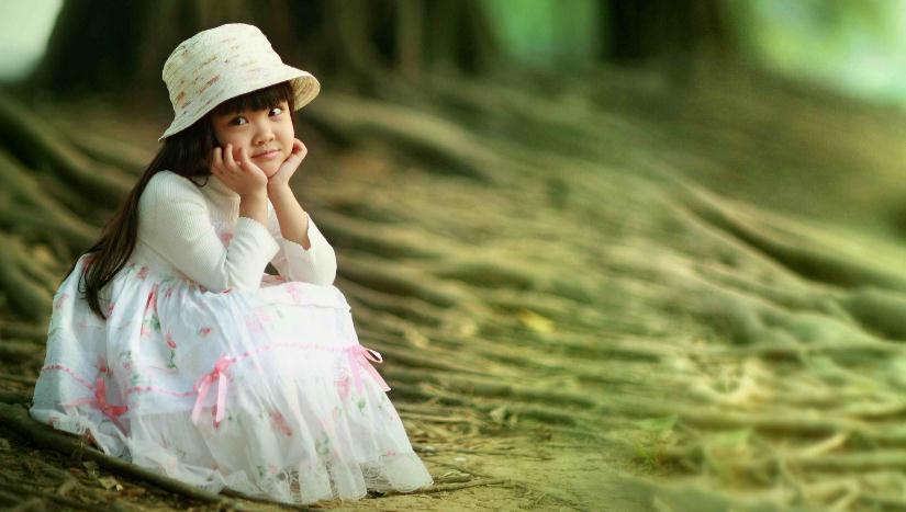 奇妙娃娃儿童摄影森林