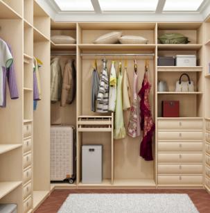 玛格定制衣柜开放式衣柜