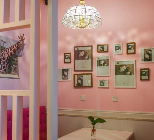 芦掌柜肉夹馍墙壁装修
