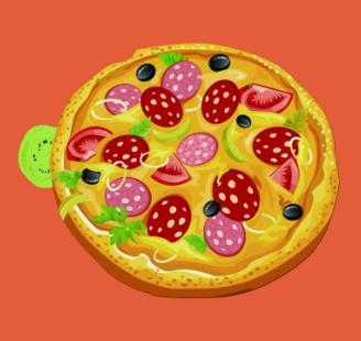 奥利奥罗披萨