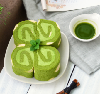福星甜品抹茶卷