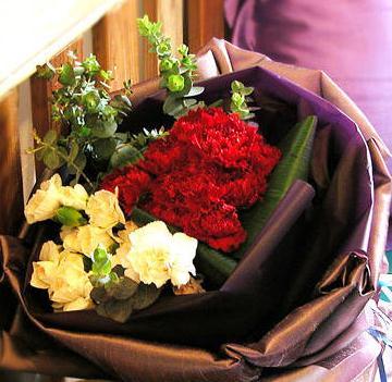 七彩花艺培训多种花