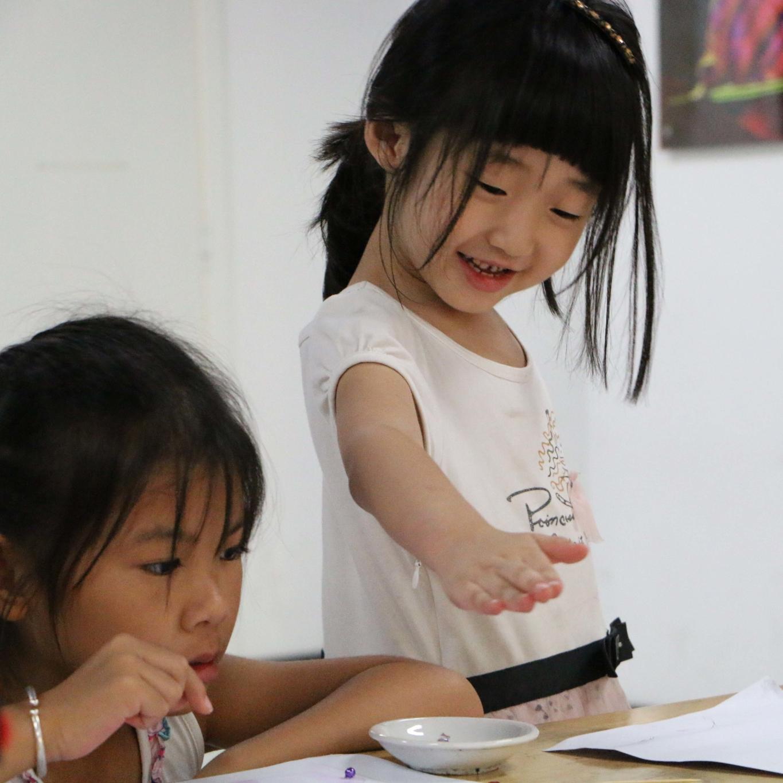 风塘少儿美术教育教学展示
