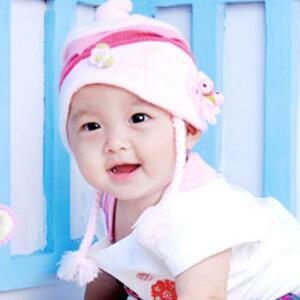 伊娜爱贝儿知名儿童摄影毛巾帽