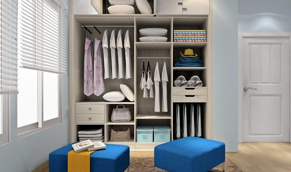 尚品衣柜室内图