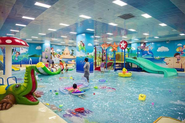 大型游泳馆展示