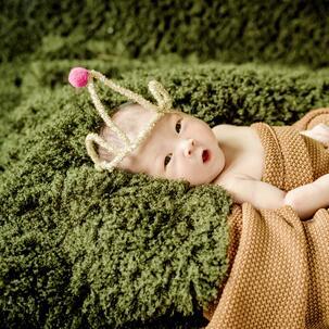 格林童趣儿童摄影毯子