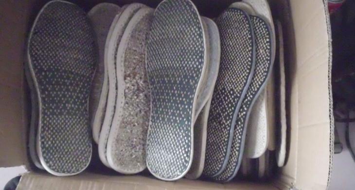 温尔缦老人鞋鞋垫