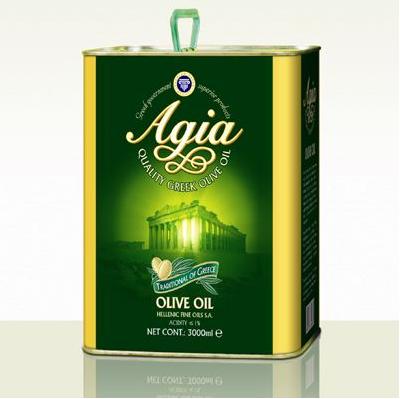 阿茜娅混合橄榄油桶装3l