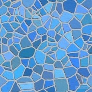 欧菲尼瓷砖蓝色花纹