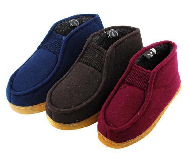 百步康老人鞋棉鞋