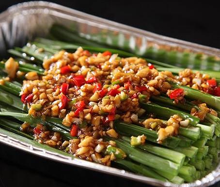 芦掌柜肉夹馍烤韭菜