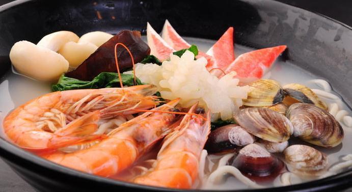 哈尼海鲜面虾面