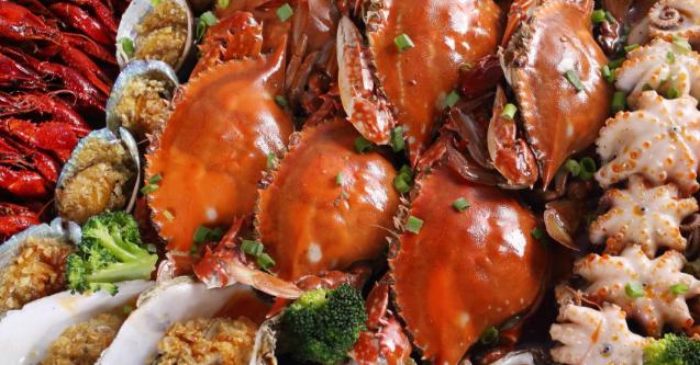 伍哥蒸鲜蒸汽海鲜海鲜香辣蟹
