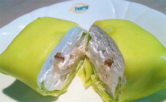 芒不顛甜品榴蓮班戟