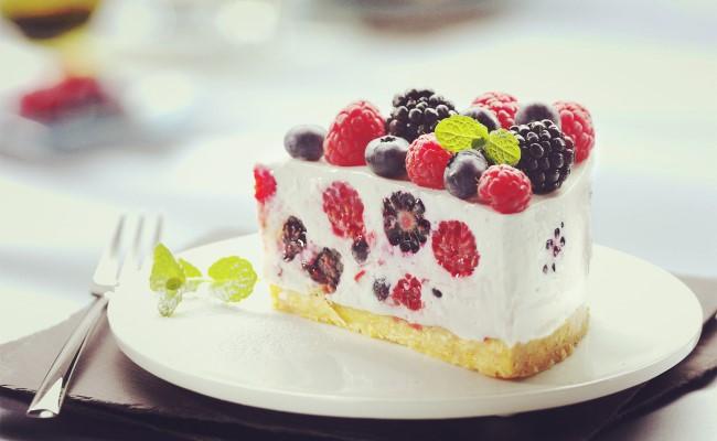 地茂馆甜品奶油蛋糕