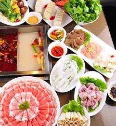 武林山珍枫情烤吧火锅羊肉火锅