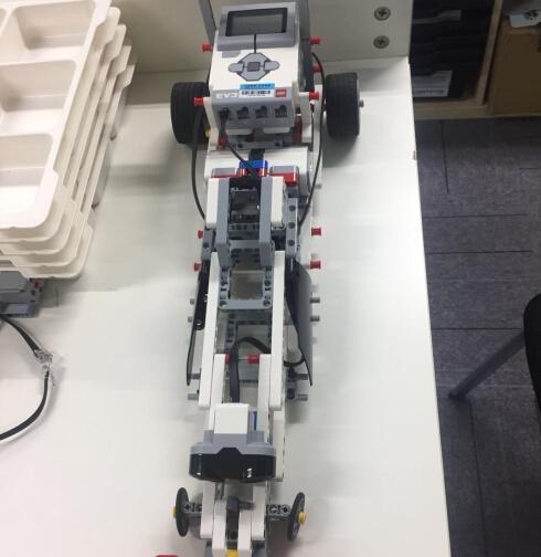 酷码少儿编程机器人成果