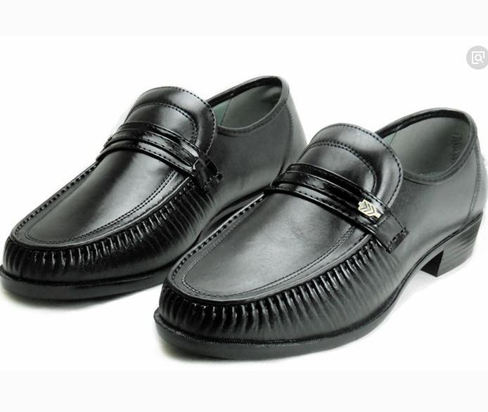 老人鞋皮鞋