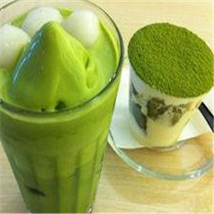 芒不顛甜品抹茶冰淇淋