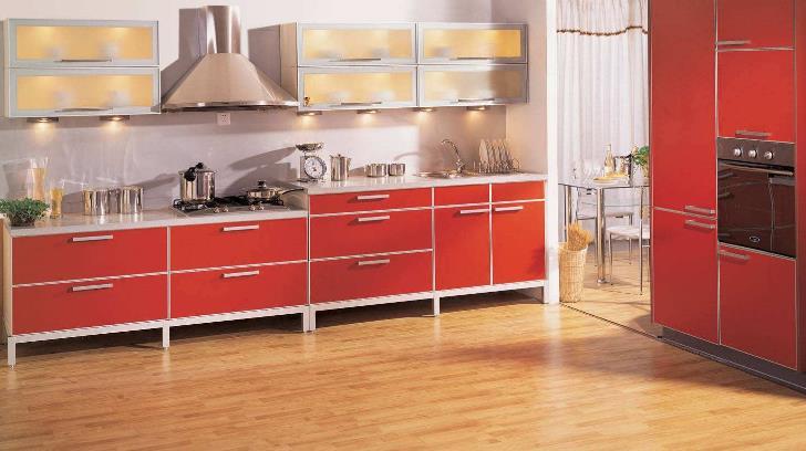 海男所拥有厨柜白色橱柜