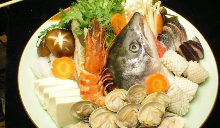 泰色天香海鲜火锅鱼头火锅