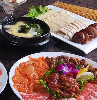 五六岛韩国料理酱香五花肉