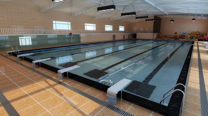 哈沃康体游泳会所泳池