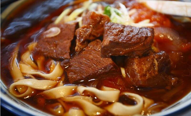 友乐达台北精致面馆红烧牛肉面