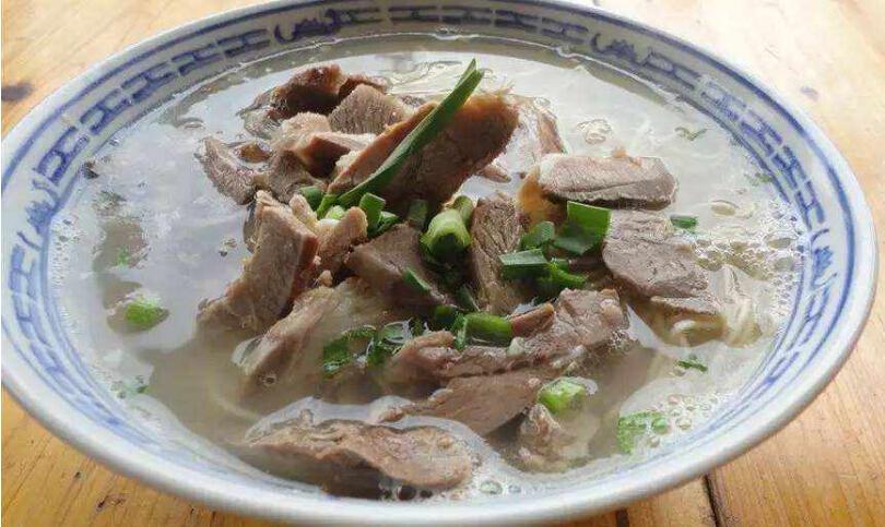 茗味居羊肉汤细面