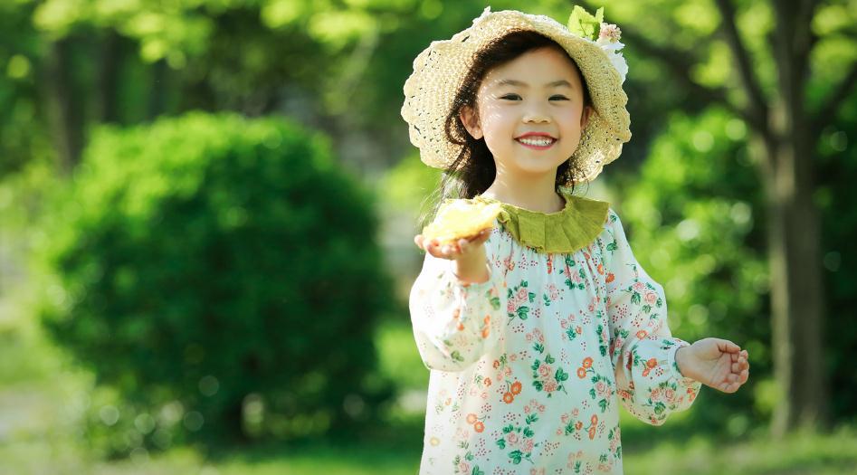 爱儿美专业儿童摄影小女孩