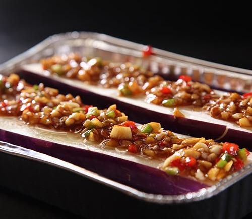 芦掌柜肉夹馍烤茄子