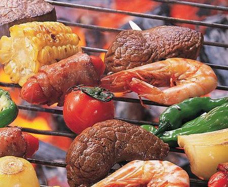 炭号烤肉烤羊腿烧烤