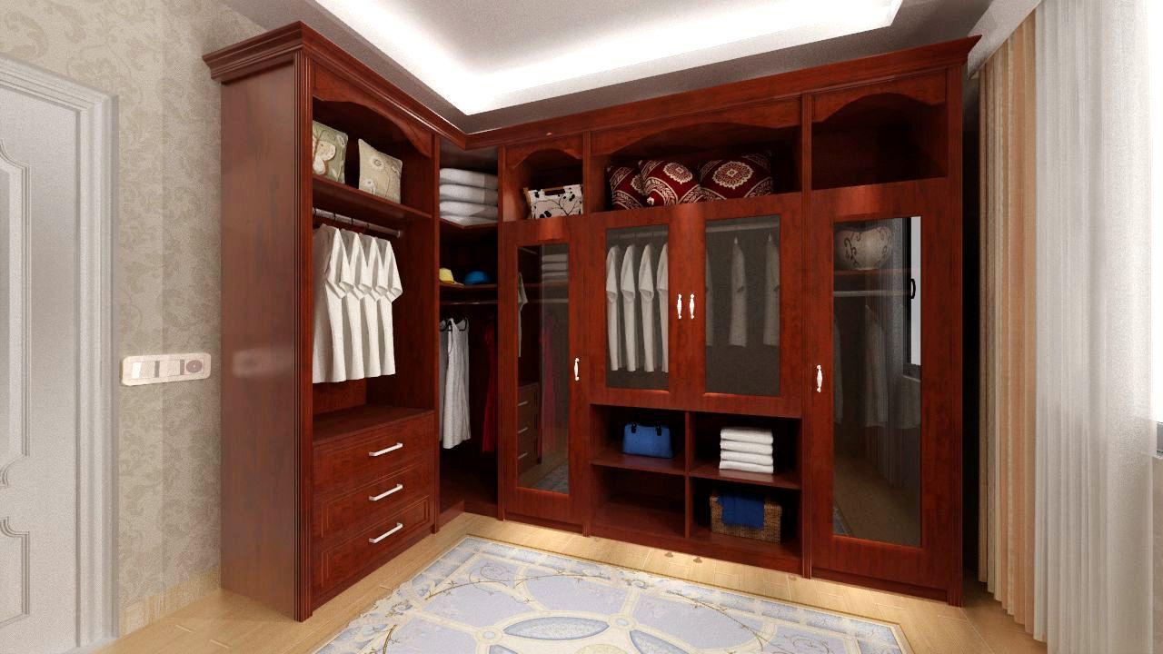 欧派定制衣柜起居室