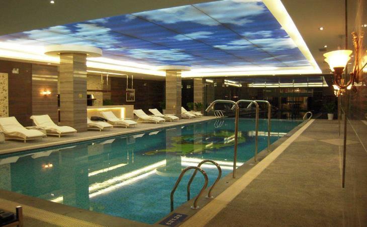 联盛水环境会所泳池