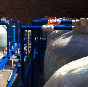联盛水环境设备展示