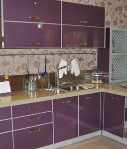 袁龍櫥柜紫色
