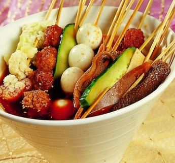 西番猫串串火锅美味